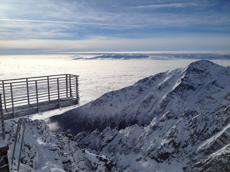 Tatranská Lomnica snow