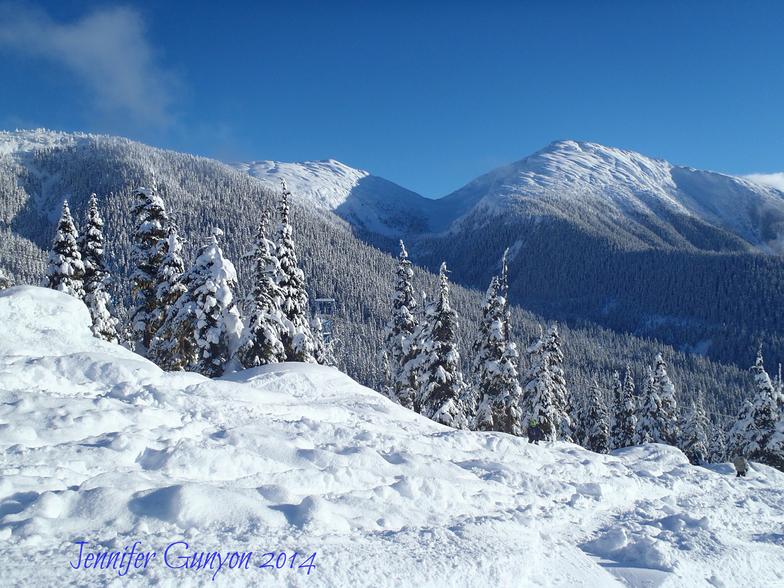 Shames Mountain snow