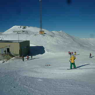 skiing place on the 7th station, Tochal