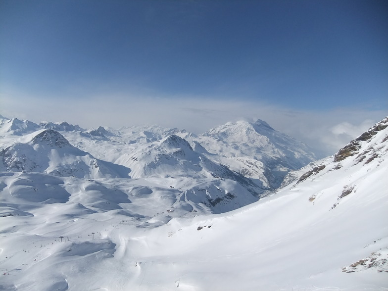 val d'isere from leissieres chairlift