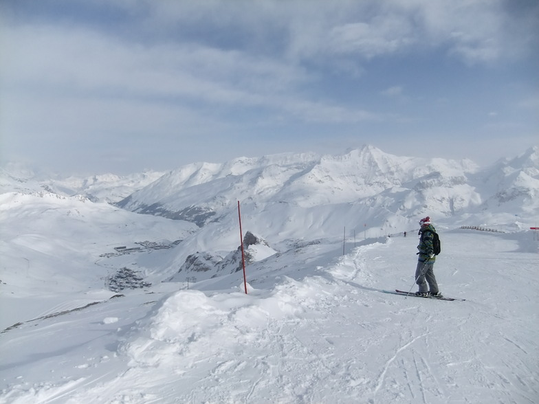 tignes from top