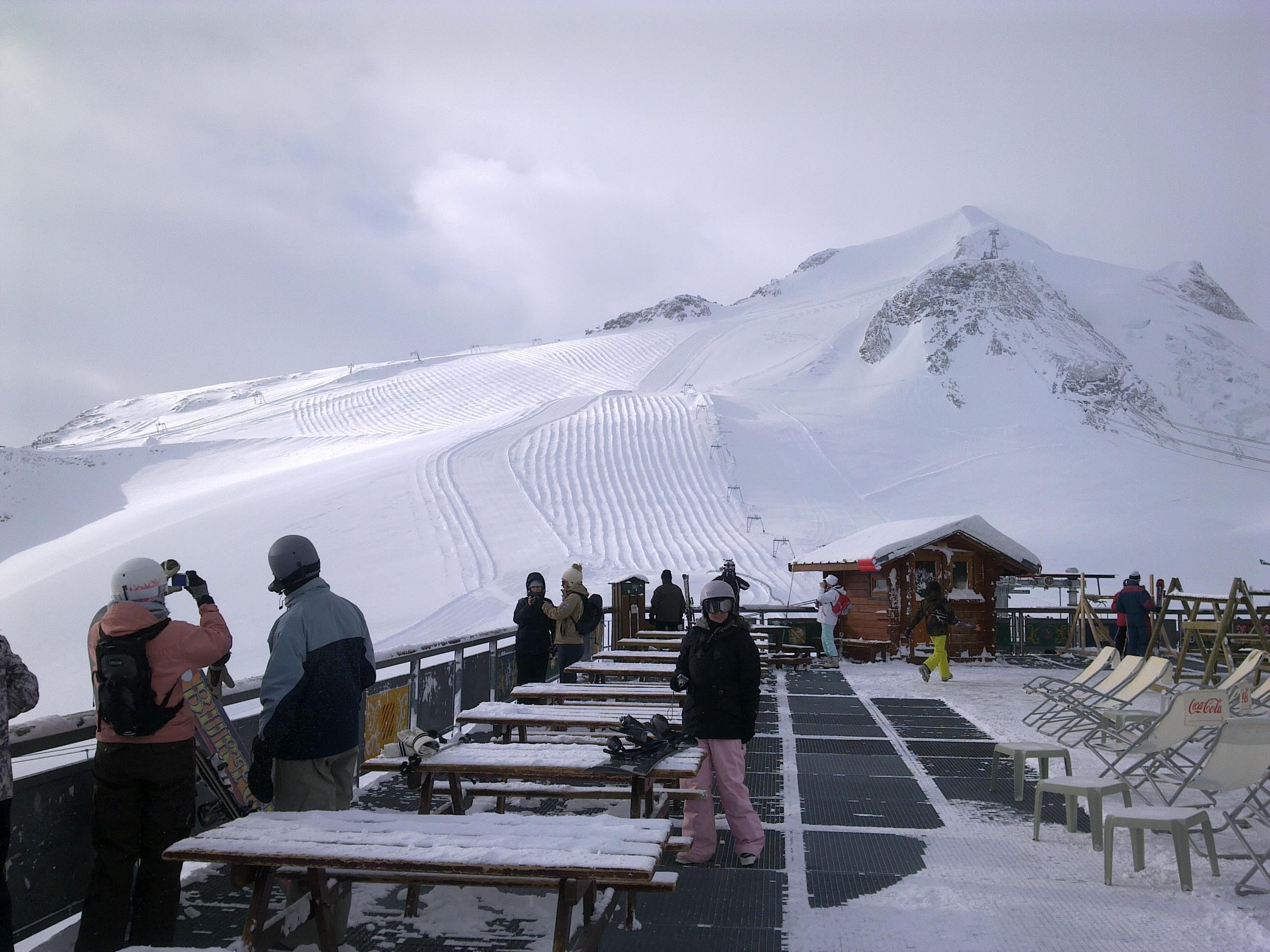 grande motte descent, Tignes