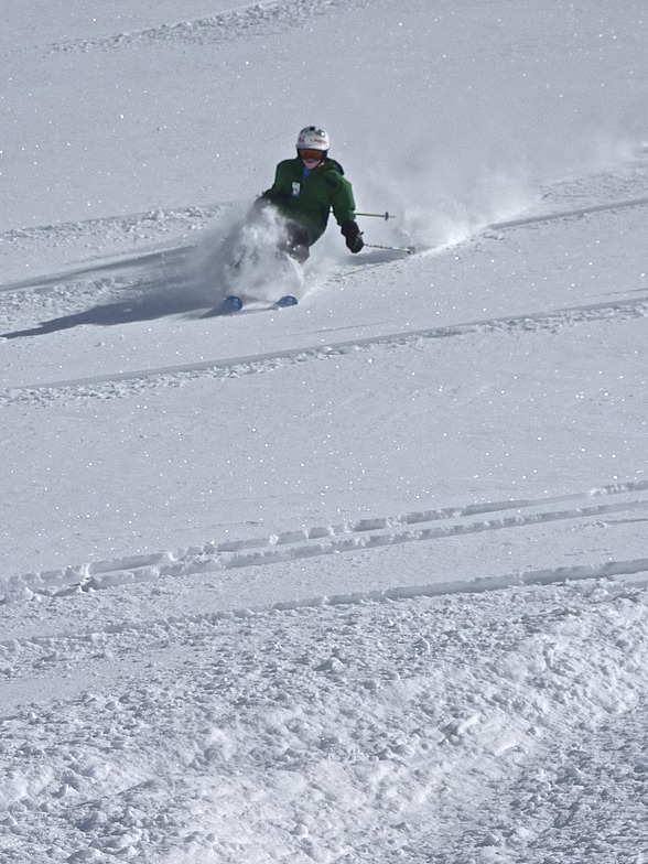 10 year old in the fresh, Whistler Blackcomb
