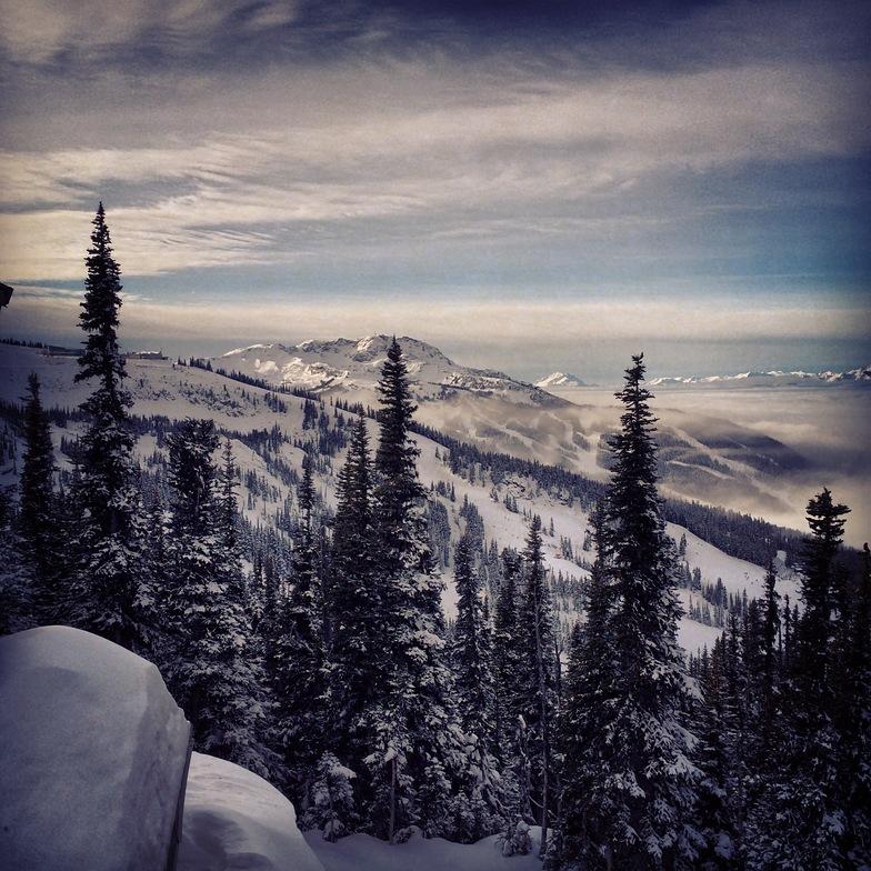 Crystal hut views, Whistler Blackcomb