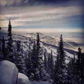 Crystal hut views, Whistler Blackcomb