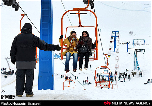 Āb Alī Ski Resort by: ali nasiri