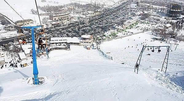 Āb Alī snow