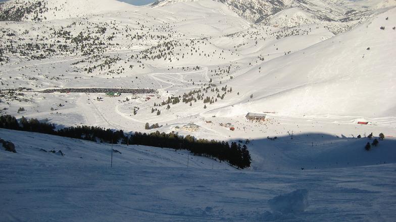View from Antigoni top, Kalavryta Ski Resort