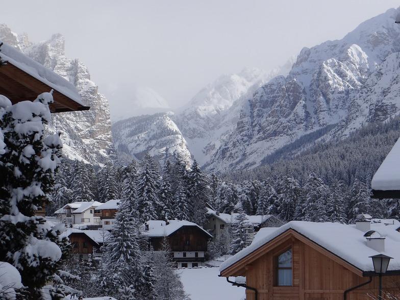 San Vigilio Di Marebbe snow