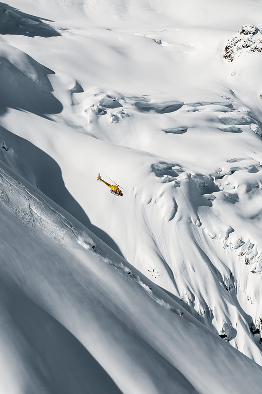 Heli Skiing Adventure [Photo by: Dave Silver], Last Frontier Heliskiing