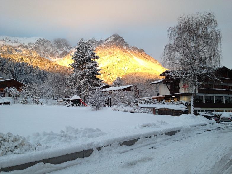Sunset, Scheffau