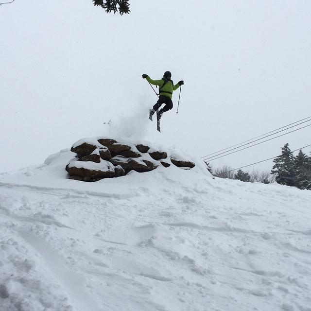 Feb 5th Powder Day, Mount Snow