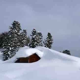 Deep drifts, Ski Area Alpe Lusia