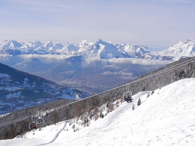Nax - Mont-Noble snow