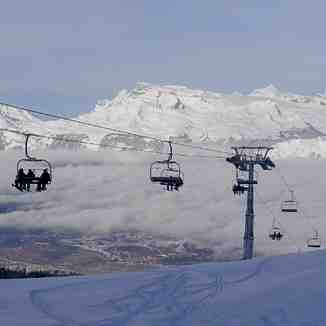 Nax chairlift, Nax - Mont-Noble