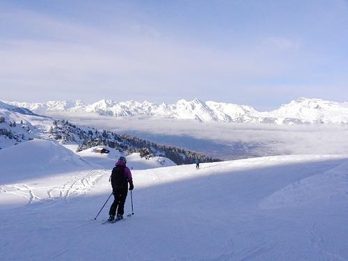 Nax - Mont-Noble Ski Resort by: Chris Patient