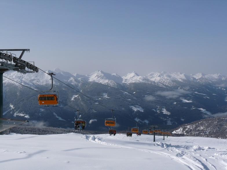 Top of Laste lift, Ski Area Alpe Lusia