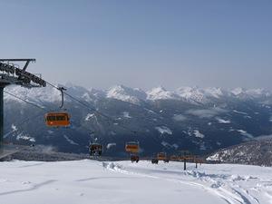 Top of Laste lift, Ski Area Alpe Lusia photo