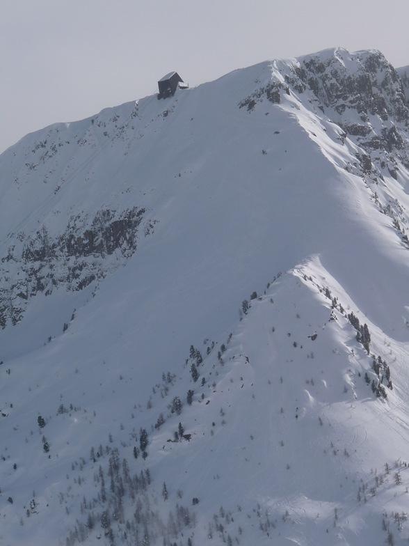 Passo San Pellegrino snow