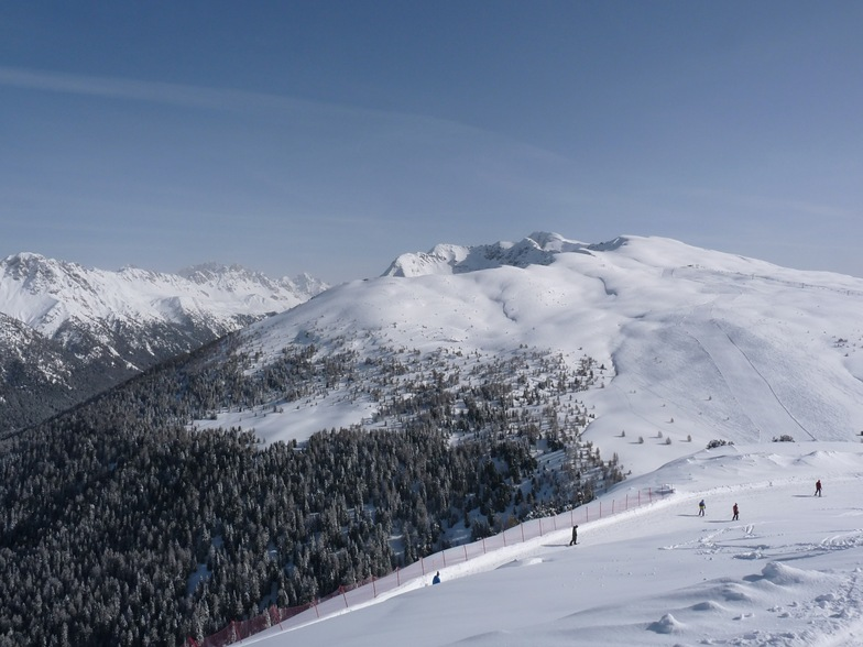 Ski Area Alpe Lusia snow