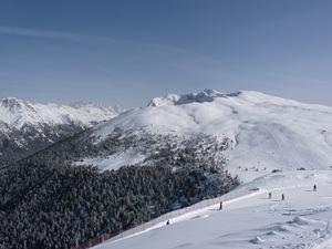Top of Le Cune lift, Ski Area Alpe Lusia photo