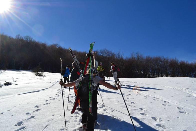 Galicica freeride 15.02.2014, Oteshevo