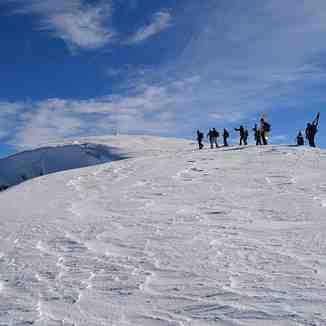 Freeriders at mount Galicica, Oteshevo