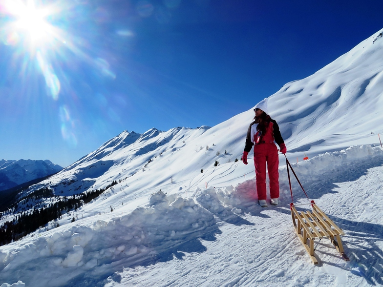perfect day to ski! <3, Nara