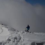 working on the edge, San Cassiano (Alta Badia)
