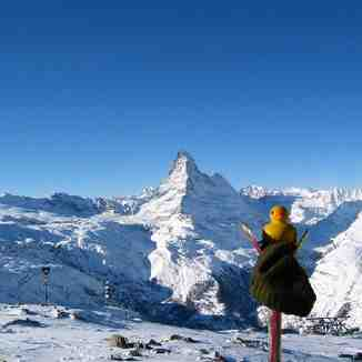 What a view, Zermatt