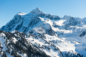 Mount Shukson, Mount Baker photo