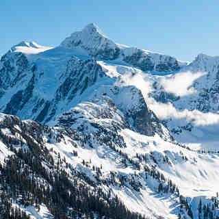 Mount Shukson, Mount Baker