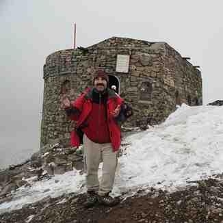 پناهگاه مرحوم امیری درنزدیکی قله توچال
