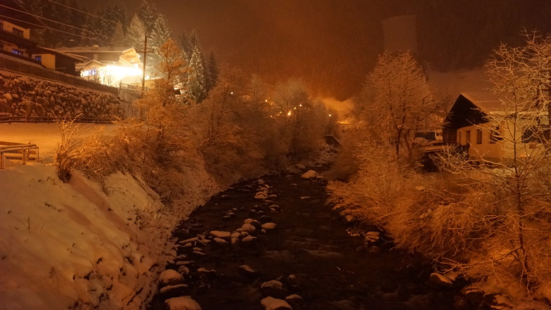 Märchenhaft abend in Mayerhofen, Mayrhofen