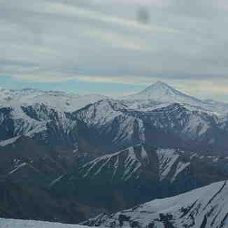 landscape of Dmavand fron The tochal peak