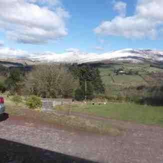 Knockanaffrin,Nire Valley slopes., Knockanaffrin (Comeragh Mts)