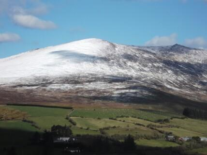 Knockanaffrin slope Nire Valley side., Knockanaffrin (Comeragh Mts)