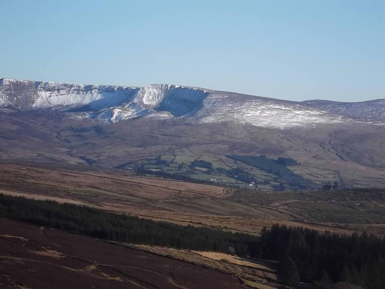 Coumfea West slope., Coumfea West (Comeragh Mts)