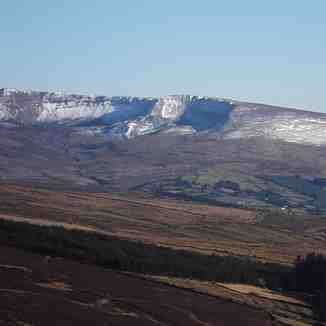 Coumfea West slope., Coumfea West (Comeragh Mts)
