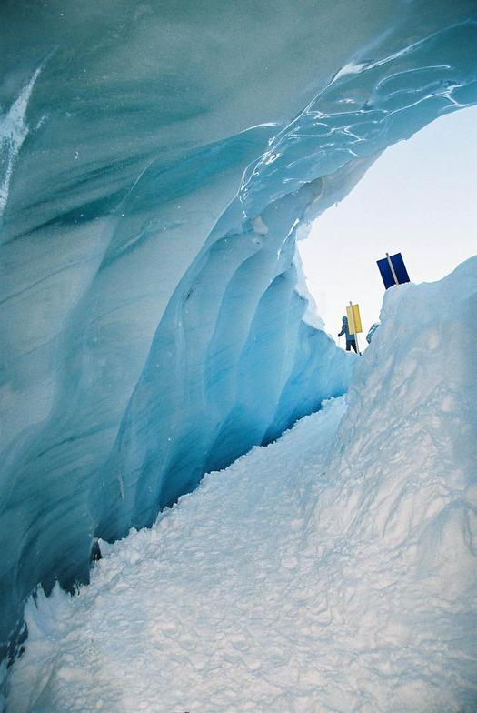 Ice Cave on Blackcomb, Whistler Blackcomb