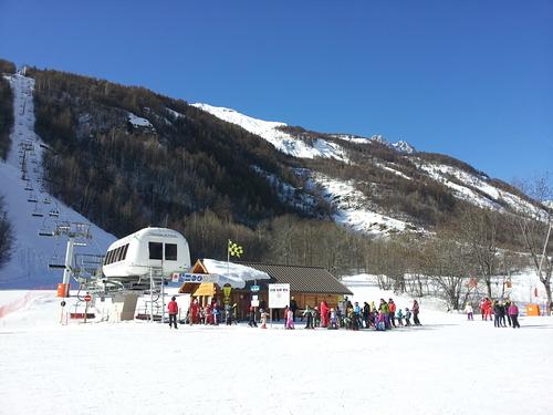 Pelvoux-La Vallouise Ski Resort by: DIDIER RICOU