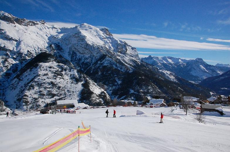 Pelvoux-La Vallouise snow