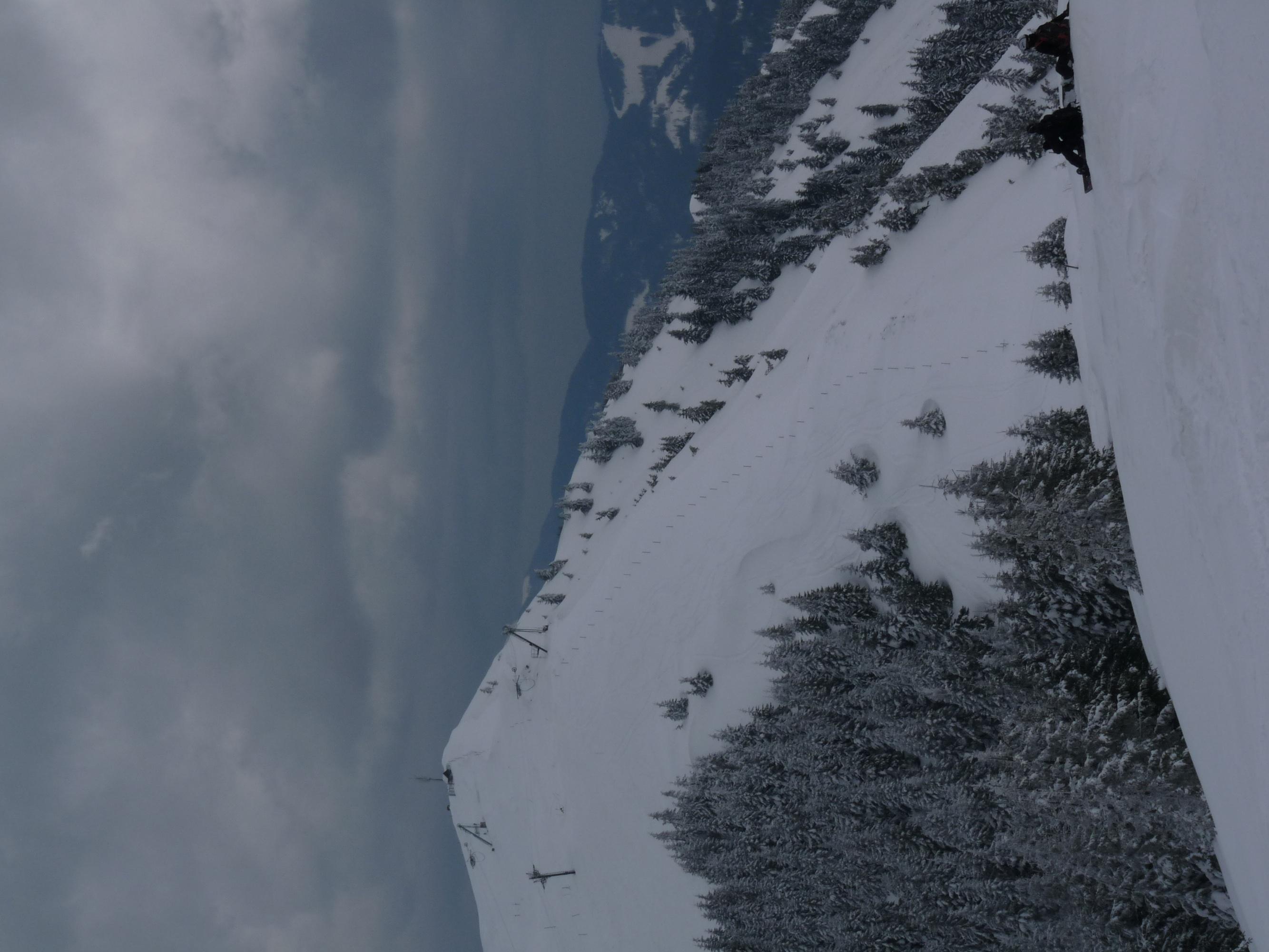 Looking towards Lajnar peak., Soriska Planina