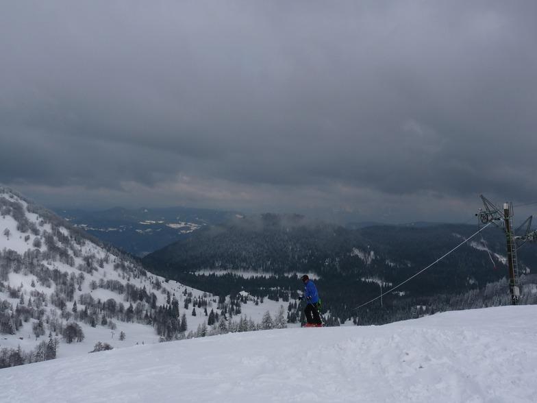 At the top, Soriska Planina