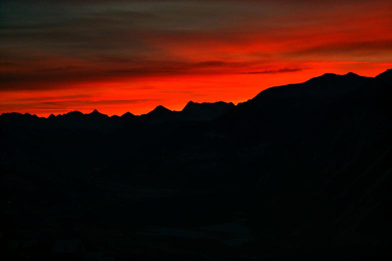Sunrise Crans Montana