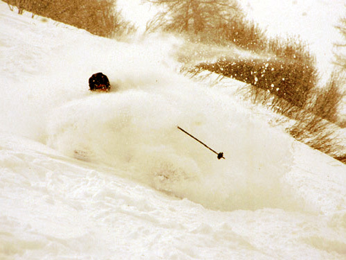 Powder..., Chamonix