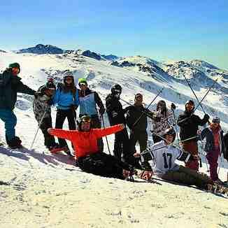 With  Snownjeri fans, Brezovica