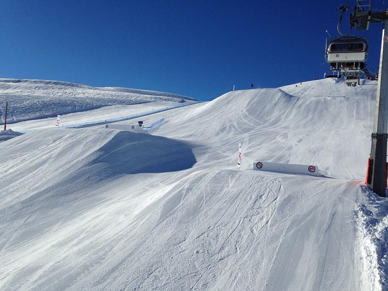 snowpark, Livigno