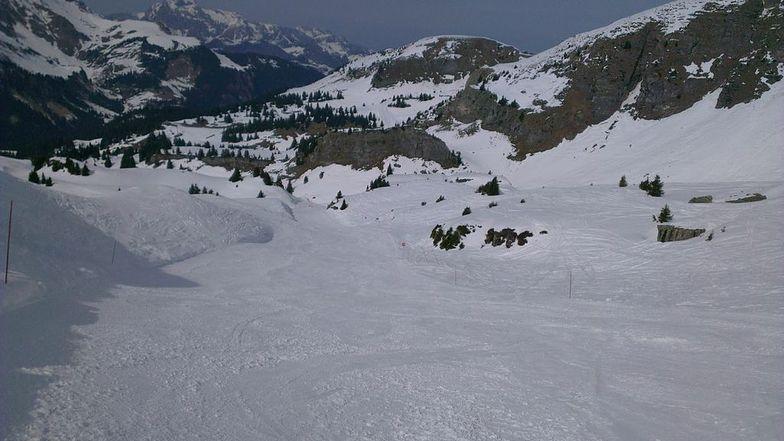 April Snow in Chatel
