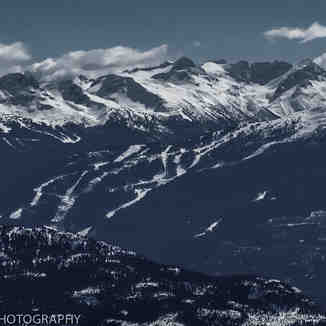 Blackcomb Mountain taken from Metal Dome, Whistler Blackcomb
